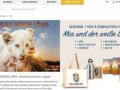 real Gewinnspiele Mia und der weiße Löwe Fanpakete mit DVD