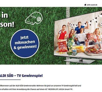 Aldi Süd Gewinnspiel Medion 65 Zoll Fernseher