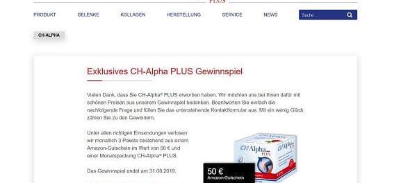 Amazon Gutscheine Gewinnspiel CH Alpha
