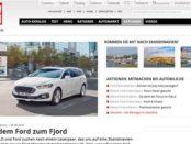 Auto Bild Gewinnspiel Autoreise nach Skandinavien gewinnen