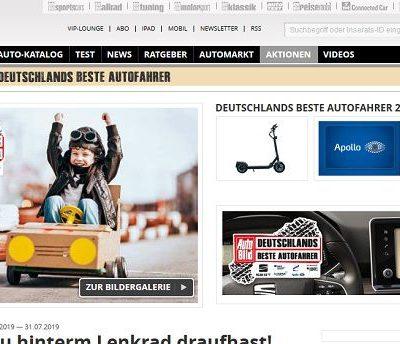 Auto Bild Gewinnspiel Deutschlands beste Autofahrer 2019