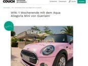 Auto-Gewinnspiel Couch Magazin Mini Wochenende gewinnen