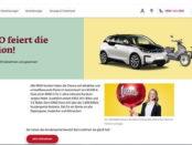 Autogewinnspiel Ergo verlost BMW i3 und E-Bikes