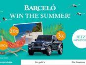 Barcelo Sommer-Gewinnspiel Autos und Reisen gewinnen