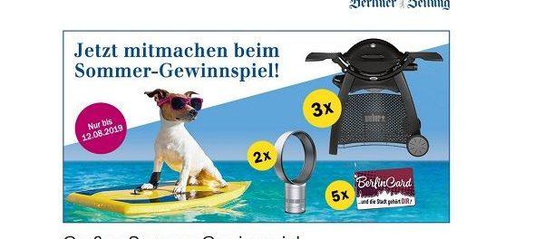 Berliner Zeitung Sommer Gewinnspiel