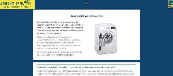 Waschmaschine Edeka