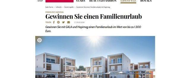 Familienurlaub Gewinnspiel Gala und Hapimag