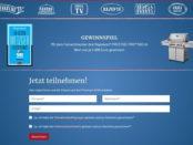 Feldherrenküche Gewinnspiel 3 Napoleon Prestige Pro Grill je 2.899 Euro