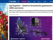 GameStar Gewinnspiel Reacaro Gamingstuhl und Ryzen-5-3600-Prozessor