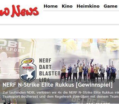 Kino News Gewinnspiele NERF N-Strike Teamsport