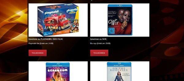 Kinowetter Gewinnspiele zahlreiche DVDs zu gewinnen