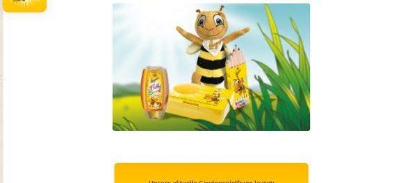 Langnese Honig Gewinnspiel Schulstart-Sets