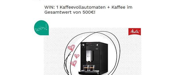 Melitta Kaffeevollautomat Gewinnspiel Couch - Das Magazin