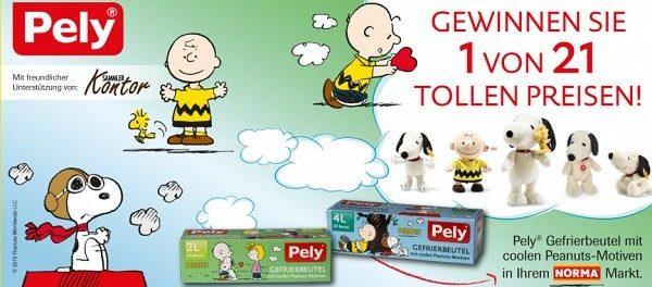 Pely Gewinnspiel limitierte Steiff Peanuts Plüschfiguren