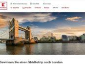 Reise-Gewinnspiel Kaufland London Wochenend-Städtetrip