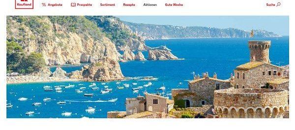 Reise-Gewinnspiel Kaufland Urlaub an der Costa Brava gewinnen