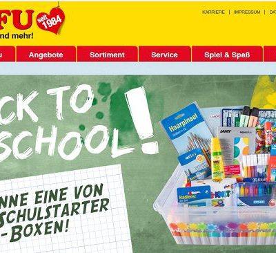 Rofu Gewinnspiele kostenlos 100 Schulstarter-Boxen gewinnen