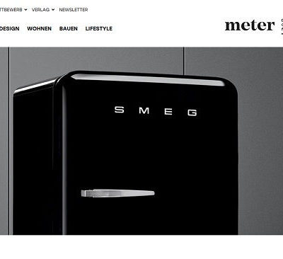 SMEG Kühlschrank Gewinnspiel Meter Onlinemagazin Wohnkultur