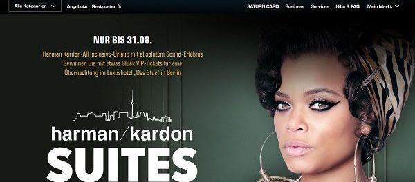 Saturn Gewinnspiel Harman Kardon-All Inclusive-Urlaub Berlin