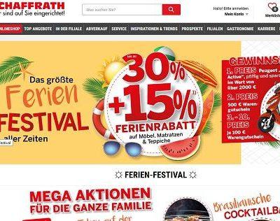 Schaffrath Gewinnspiele Peugeot Motorroller und Warengutscheine