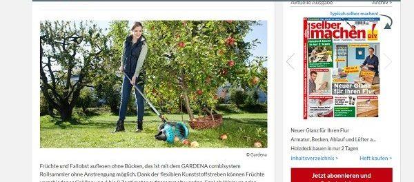 Selber Machen Gewinnspiel Gardena Rollsammler