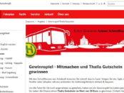 Thalia Gutscheine Gewinnspiel Bahn.de