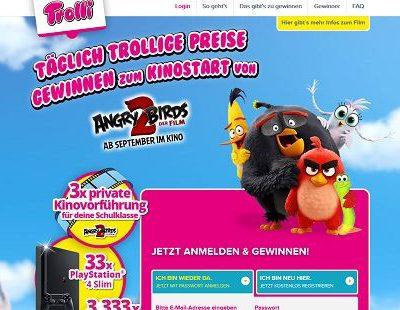 Trolli Gewinnspiel private Kinovorführungen und Playstation