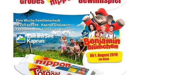 nippon Gewinnspiel Familienurlaub und Benjamin Blümchen Fanpakete
