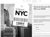 1.000 Euro Reisegutschein Gewinnspiel Opus Fashion