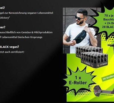 28Black Energy Gewinnspiel E-Scooter mit Straßenzulassung