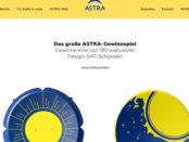 Astra Gewinnspiel 180 Design Sat-Schüsseln
