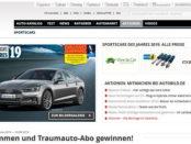 Auto Bild Gewinnspiel Sportscars Leserwahl 2019 Traumauto-Abo gewinnen