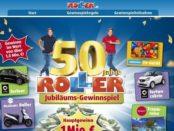 Auto-Gewinnspiel Roller Möbelmärkte Jubiläum Smart Cabrio