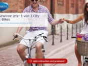 E-Bike Gewinnspiel Brita verlost 3 City E-Bikes