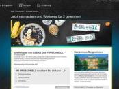 Edeka und Proschmelz Gewinnspiel Wellness-Wochenendreise zu Zweit