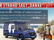 Flensburger Gewinnspiel Hobby Vantana Campervan Wert über 50.000 Euro
