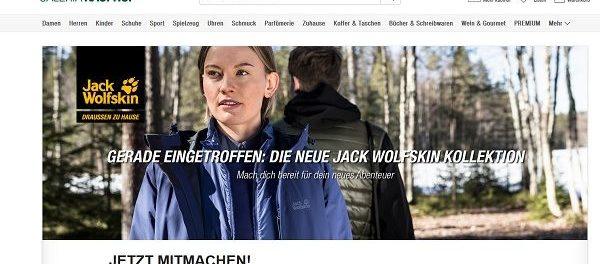 beste Angebote für Online bestellen weich und leicht Galeria Kaufhof Gewinnspiel Jack Wolfskin Überraschungspaket