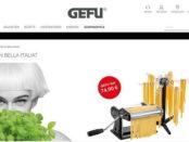 Gefu Gewinnspiel 3 Profi -Pastamaschinen PASTA PERFETTA NERO