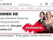Gina Laura Gewinnspiel München Aufenthalt und Kinopremierentickets