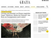 Grazia Magazin Gewinnspiel London Reise Maleficent Premiere