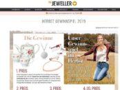 Herbst-Gewinnspiel The Jeweler Schmuck Gutscheine und Teeservice