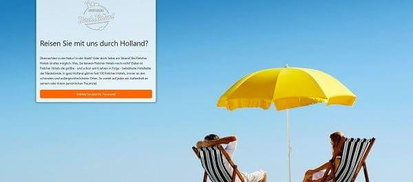 Hollandreise Gewinnspiel Fletcher Hotel Gutschein