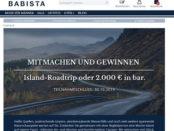 Island-Reise oder Geld-Gewinnspiel Babista Mode für Männer