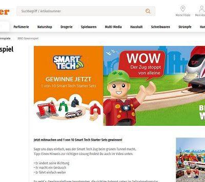 Müller Drogerien Gewinnspiel 10 Smart Tech Starter Sets