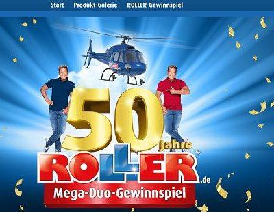 Mega-Duo-Gewinnspiel Roller Möbelmärkte Gutscheinkarten