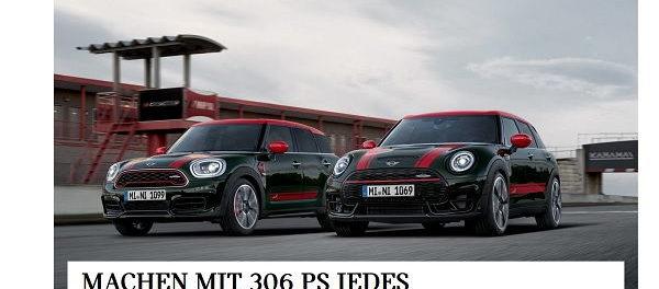 Mini Auto-Gewinnspiel 6 Monate Mini kostenlos fahren