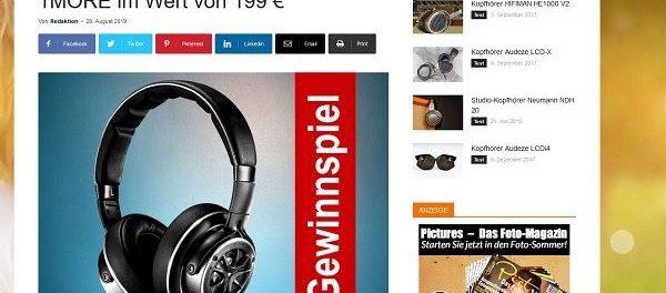 Mobilefidelity-Magazin Gewinnspiel hochwertiger Kopfhörer
