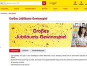 Netto Marken Discount Gewinnspiel Gold Magazin Jubiläum