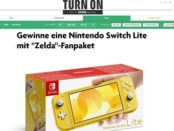 Nintendo Switch Lite Gewinnspiel Turn On Magazin