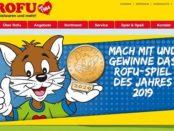 ROFU Gewinnspiel Spiel des Jahres 2019 Spielepakete